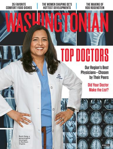 Washingtonian Magazine Cover