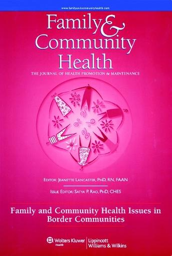 Family & Community Health Magazine Cover