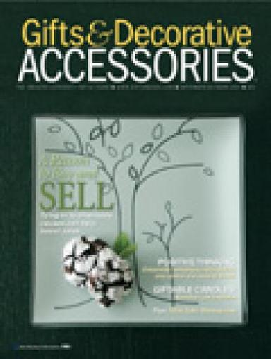 Gifts & Decorative Accessories Magazine Cover