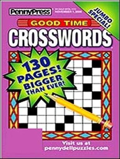 Good Time Crosswords Magazine Cover