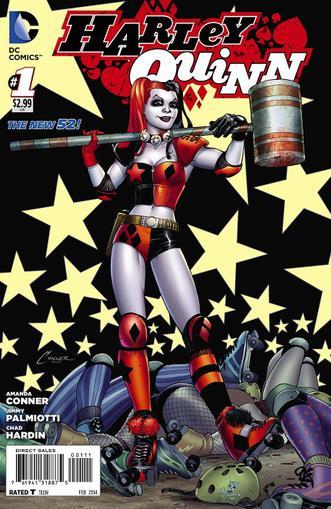 Harley Quinn Magazine Cover