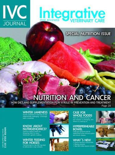 Integrative Veterinary Care (IVC) Journal Magazine Cover