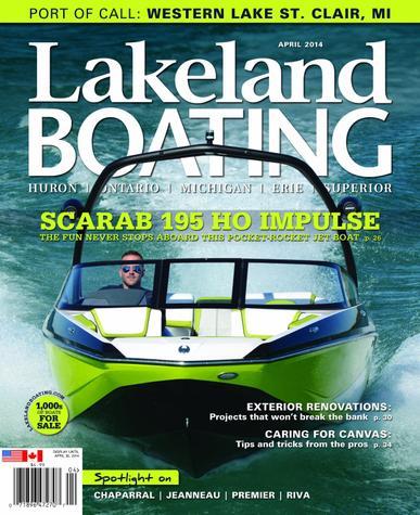 Lakeland Boating Magazine Cover