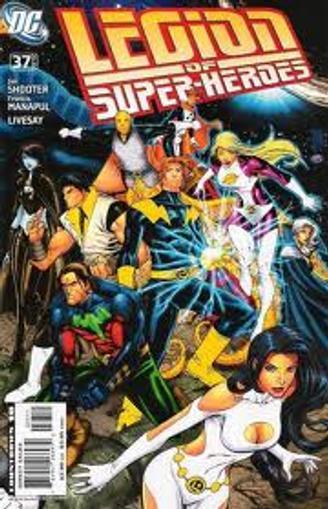 Legion of Super-Heroes Magazine Cover