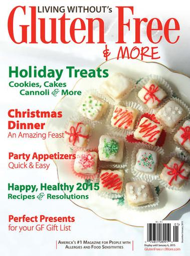 Living Without's Gluten Free & More Magazine Cover