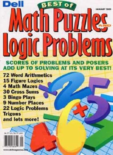 Logic Lover's Math & Logic Problems Magazine Cover