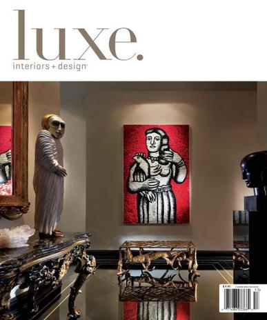 Luxe: Interiors & Design Magazine Cover