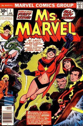 Ms Marvel Magazine Cover