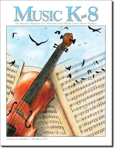Music K-8 (CD & Student Parts) Magazine Cover