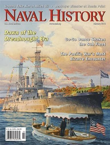 Naval History Magazine Cover