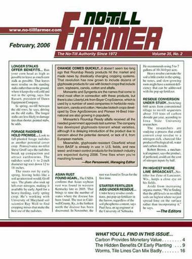 No Till Farmer Magazine Cover