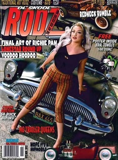 Ol Skool Rodz Magazine Cover