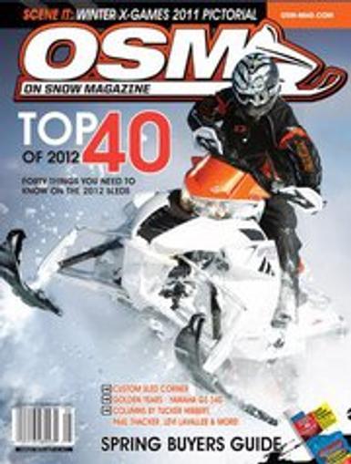On Snow Magazine Cover