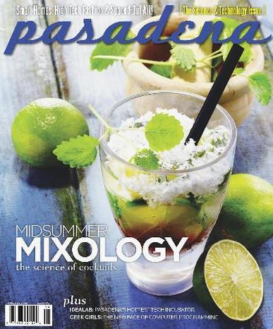 Pasadena Magazine Cover