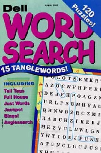 Puzzler's Word Search Magazine Cover