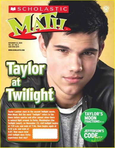 Scholastic Math Magazine Cover