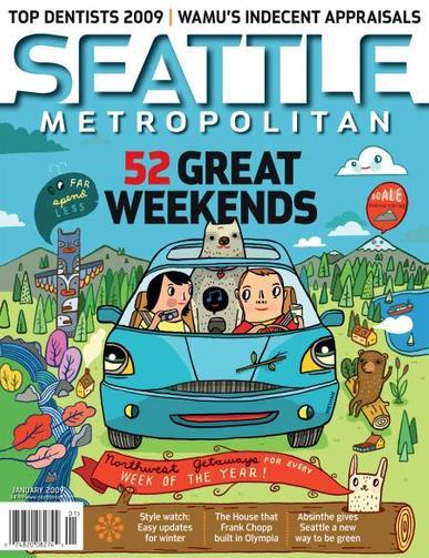 Seattle Metropolitan Magazine Cover