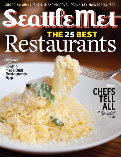 Seattle Metropolitan Magazine Cover