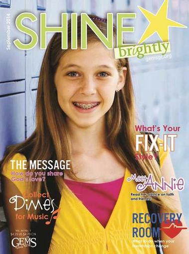 Shine Brightly Magazine Cover