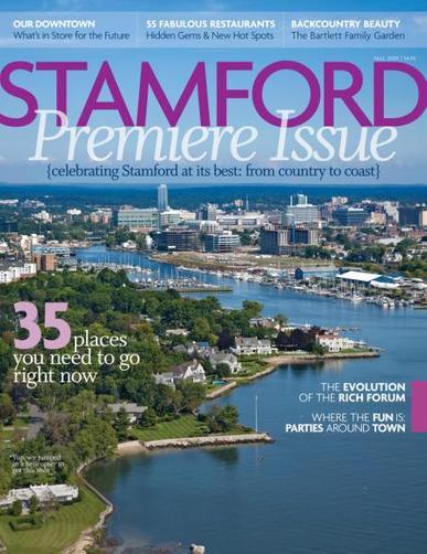 Stamford Magazine Cover