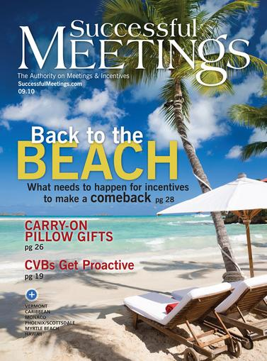 Successful Meetings Magazine Cover