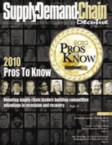 Supply & Demand Chain Executive Magazine Cover