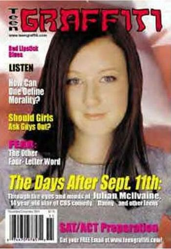 Teen Graffiti Magazine Cover