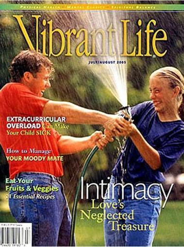 Vibrant Life Magazine Cover