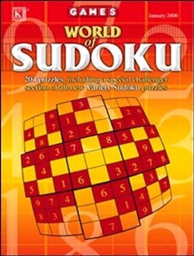 World of Sudoku Magazine Cover