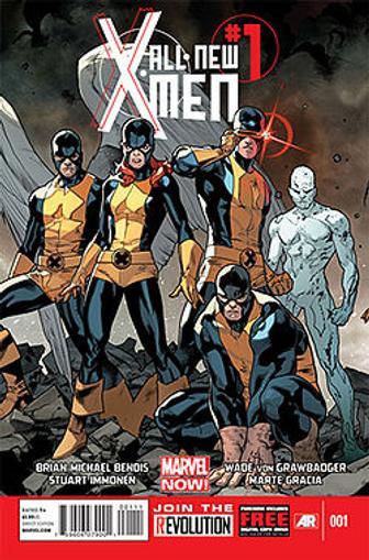All New X-Men Magazine Cover