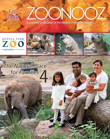 Zoonooz Magazine Cover